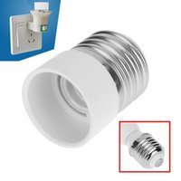 5pcs Lamp Holder Converters E27 to E14 40mm Fireproof PBT Lamp Bulb Adapter Converter for Corn Candle Ball Bulbs lighting