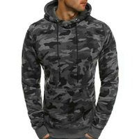 Manteau chaud Sweat à capuche Homme Veste Outwear camouflage Automne Hiver overs à manches longues