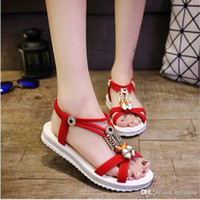 Beach Shoes Lady 2019 new Xiajiboximiya sandal flat bottom w...