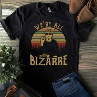 Club du petit déjeuner We'Re All Bizarre Vintage Hommes T Shirt Black Cotton S 6Xl