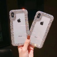 Luxury Bling Full Crystal Capa Cover Cases for iPhone XS Max...