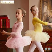 Ballet training costume dance wear for girls dance clothes C...