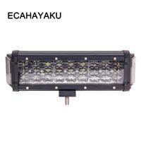 Ecahayaku Dual-Seiten-Shooter 124W 10 Zoll 4Rows LED-Arbeitslicht-Bar 270-Grad für Jeep Truck atv uaz 4x4 Offroad Car Styling