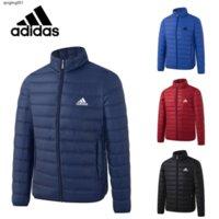 4CRV 고온의 가을 겨울 새로운 남성 자켓 다운 코트 파카 자켓 편안한 따뜻한 다운 재킷 아래로 칼라 빛 높은 품질의 고급 스탠드