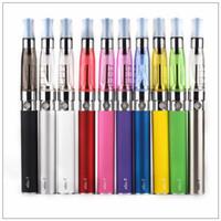 Эго стартовый комплект CE4 Электронные сигареты комплект 650mAh 900mAh 1100mAh EGO-Т батареи Стартовые наборы Электронная сигарета комплекты Атомайзер DHL