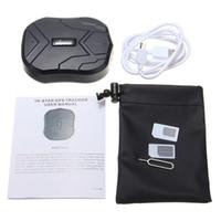 Tkstar للماء GPS المقتفي TK905 لسيارة / شاحنة / فان الوقت الحقيقي الموقع PS110 DHL UPS شحن مجاني شحن مجاني