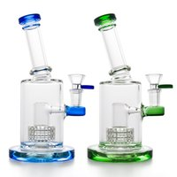 "High Quality 8. 7"" Glass Water Pipe Recycler Bong Bubbler..."