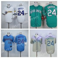 Cheap wholesale New Ken Griffey Jr. baseball Jersey! Sizes S...