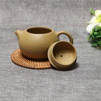Zisha Tetera Famoso Kung Fu Juego de té Yixing Taza de olla hecha a mano Set 280 ml Cerámica China de calidad superior Ceremonia del té de embalaje de regalo