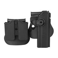 Holsters de défense IMI avec rétention des polymères dans le magasin, droitier droit compatible avec G17 19/22/31 1911 pistolet-jouet 92/96 / M9