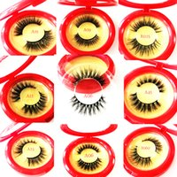 High Quality False Eyelash Extension 3D Mink Strip Lashes Fa...
