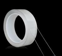 Traceless الشريط Reusable على الوجهين لاصق نانو الشريط للإزالة ملصق قابل للغسل الأشرطة لاصق نانو عصا 1/2/3/5 متر