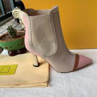 Inicio Zapatos Accesorios Botas Producto estrella de la manera del cuero detalle zapatos de mujer de cuero mujer baja moda otoño invierno diseñador de tobillo