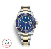 Топ керамические мужские механические из нержавеющей стали с логотипом bule черные дизайнерские часы orologi da uomo di lusso часы Big Bang