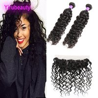 Brazilian Virgin Hair 2 Bundles With 13X4 Lace Frontal 3piec...