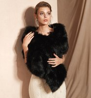 MAGGIEISAMAZING Großhandel gefälschte Kunstpelz Hollywood Glamour Fashion vertuschen Cape billige Brautverpackungen Jacken CYH0pj18085