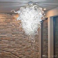 Assembly Chihuly Balls Pingente Ilumina Lâmpadas Colorido Murano Blown Vidro Bolhas Luzes Teto Modern Home Decoração Candelabros