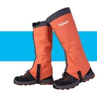 Aquecedores de perna de braço de manga à prova d 'água Caminhada Camping Ski Botas de viagem Sapatos de Leggings Proteção