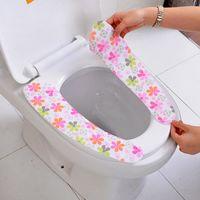 Сиденье для унитаза крышка мягкий туалет паста туалет сиденье коврик можно стирать ванная комната теплее туалет closestool коврик крышка крышка липкая циновка места