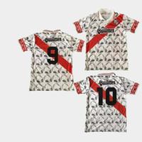 Camiseta retro retro 1996 Río Jersey fútbol casero camisetas de Salas Francescoli Gallardo tricampeón 96 97
