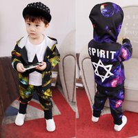 Children' s clothing boy star long sleeve suit new femal...