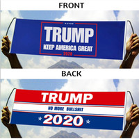 دونالد ترامب العلم باليد ترامب العلم الوفير 24X70CM إبقاء أمريكا العظمى راية العلم ترامب 2020 أعلام الرئيس الانتخابات DBC VT0634