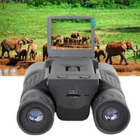 Бесплатная доставка 10 * 25 Увеличить бинокулярный 720P цифровой видеокамеры 2 «» TFT видеокамера BD318 Открытого телескоп Охота камера