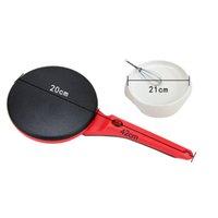 900W 220V anti-adhésif électrique Crêpe Pizza Maker Pancake non-bâton crêpière cuisson Pan gâteau machine de cuisine Outils de cuisson Crêpe