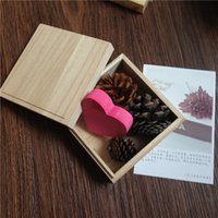 Wooden Packaging Box Shop Jewelry Display Box DIY Different ...