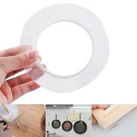 1/2/3 / 5m Riutilizzabile Adesivo biadesivo Nano Track Tape Tape Tape Ufficio rimovibile lavabile all'ingrosso all'ingrosso