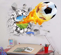 Wall stickers 3D depth illusion PVC wall decal sticker mural...