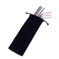 Bolsa de cordão reutilizável saco de armazenamento de palha de veludo preto bolsa de cordilheira organizador de jóias