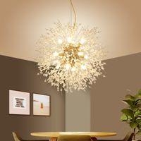 Nordic G4 industriale Chrome Lampada a sospensione sputnik sospensione della lampada d'illuminazione Hanging decorazioni Fof LOFT lampadari lucentezza