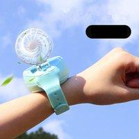 Мини-часы вентилятор портативный Портативный USB зарядка ручной маленький вентилятор дети подарок летний вентилятор охлаждения для офиса путешествия домашний декор GGA3435-9