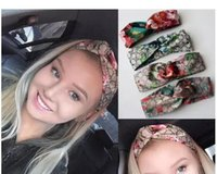in stock Designer 100% Silk Cross Headband Fashion Luxury Br...