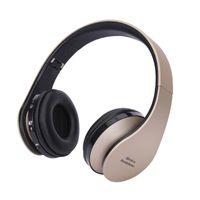 Auriculares Bluetooth Auriculares inalámbricos plegables Earphones Música DJ Auriculares con micrófono 3.5mm Enchufe por cable para teléfono celular / PC