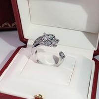 Persönlichkeit herrschsüchtig Leopard-Armband Ring der Frauen Heißes Geld freie Luxurious Tanz-Armband Geben Geschenke Goldene Ringe Versand