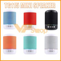 TG115 LED Mini Altifalante Portátil Sem Fio Bluetooth Speaker TF USB Leitor de Música FM Rádio Mic para iPhone XS 8 Plus Samsung Xiaomi LG