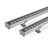 36W fabbrica impermeabile IP65 24V LED Wall Washer Lampade Paesaggio luce blu / verde / rosso / caldo / freddo / RGB Led Wall Washer luce