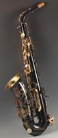 Best Quality Black Alto Saxofono YAS-82Z Giappone Brand Brand Alto Sassofono E-flat Music Strument Strument Livello professionale Spedizione gratuita