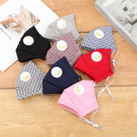 Reuseable Washable Face Mask PM2.5 Breathing Masks With Valve Adult Cotton Protective Face Masks YYA155