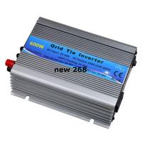 Freeshipping 600W 태양열 인버터 그리드 타이 인버터 DC22V-60V 230VAC (190-260VAC) 순수 사인 웨이브 인버터 50 Hz / 60 Hz (자동 제어) CE