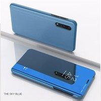 Akıllı Ayna Flip Case For Onur 9X Pro Huawei Honer 9X STK-LX1 Huawei Honor OYUN kapağı fundas için 6.59 '' 8X Max 8S 8A JAT Davaları