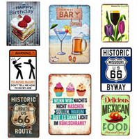 Cheers Around The World Tin Sign Vintage Wall Art Retro TIN ...