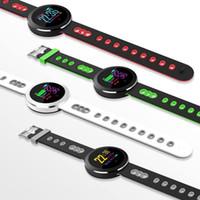 Q8 برو الذكية ووتش IP68 للماء ضغط الدم رصد معدل ضربات القلب للياقة البدنية الذكية سوار تعقب بلوتوث ساعة اليد للحصول على الروبوت فون