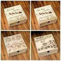 크리스마스 나무 상자 산타 클로스 엘크 눈사람 선물 상자 인기있는 홈 인테리어 장식 멀티 스타일 디자인 13jc H1을 조각