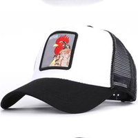 Animal Caps New Embroidery Baseball Hats Rooster Animal Embr...