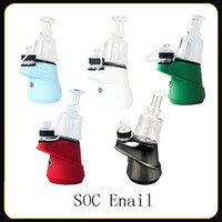 Authentic SOC Enail Kit 2600mAh Wax Concentrate Shatter Budd...