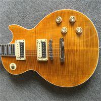 Ücretsiz Shippingchina Gitar Slash iştahı AFD VOS Doğal Sarı Elektro Gitar Sıcak Satış