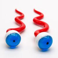 Carino Snake Eye Tool Accessorio per fumo Dabber Wax Narghilè DAB Vaporizzatore Olio DABS DABS DABERS Strumenti
